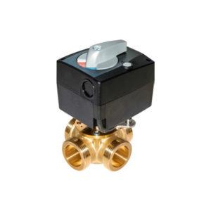 Смесительный клапан с сервоприводом