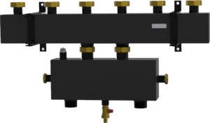 Котловой коллектор с гидравлической стрелкой