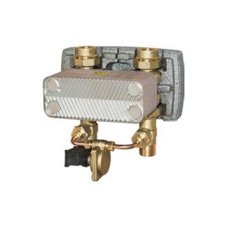 Пласинчатый теплообменник для производства ГВС